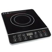 Cooktop Induction Portable Electric Countertop Burner 14 Inches 1800 Watt Black