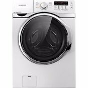 Euc Samsung Front Load Washer Electric Dryer