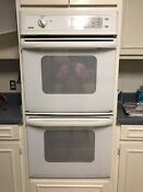 Kenmore Double 27 Built In Wall Oven White