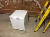 White Undercounter U Line Bar Refrigerator With Ice Maker