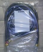6 Foot Length Washing Machine Hoses Hot And Cold 1 Pair