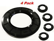 4 Pack Whirlpool Sears Kenmore Maytag Front Load Washer Tub Seal W10772619