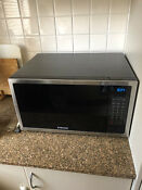 Samsung Large Stainless Steel Microwave Me6124st 1000 1600w