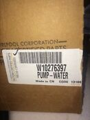 Whirlpool W10276397 Washer Drain Pump Factory Authorized Free Shipping