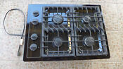 Amana 30 Gas Cook Top There Is No Dents Or Scratches Used Black