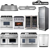 Thor Kitchen Cooking Gas Range Stoves 24 Dishwasher Range Hood Wine Cooler
