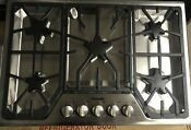 Thermador Sgs305fs 30 Stainless 5 Star Burner Gas Cooktop Open Box W Warranty