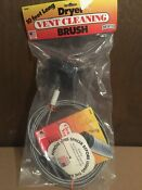 Dryer Vent Duct Cleaning Kit 10 Feet Long Remover Lint Brush New