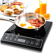 Digitallight 1800w Portable Induction Cooktop Counter Top Burner Kitchen Dining