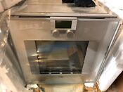 New Gaggenau 200 Series 24 Single Electric Convection Wall Oven Bo251630