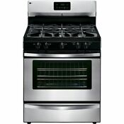 Kenmore 73433 4 2 Cu Ft Freestanding Gas Range In Stainless Steel Includes