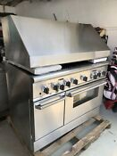 Thermador 48 Inch Dual Fuel Range And Hood In Excellent Shape