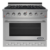 Nxr Sc 36 Inch Gas Range 6 German Burner Cooker Oven Cooktop In Stainless Steel