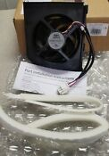 New Oem Ge Refrigerator Condenser Fan Assembly Wr60x24014
