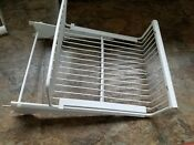 Ge Profile Refrigerator Side By Side Freezer Slide Out Wire Basket Wr71x10147