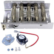 Dryer Thermostat Heating Element For Whirlpoo Ler3624eq1 Ler4364pq1 Ler8620pw0