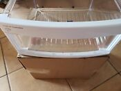 Wr32x22927 Oem Ge Refrigerator Fruits Vegetable Drawer Used Clear White