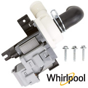 Whirlpool Pump Drain W10536347 For Cabrio Wtw6800wb1 Wtw7600xw2 Wtw6400sw0 New