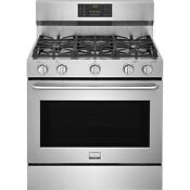 Frigidaire Stainless Steel 36 Freestanding Gas Convection Range 6 0 Fggf3685ts