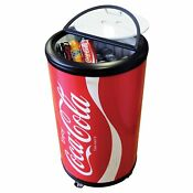 Koolatron Coca Cola Indoor Outdoor Party Fridge Mini Refrigerators