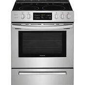 Frigidaire Stainless Steel 30 Electric Range Front Controls Ada Ffeh3054us