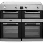 Leisure Cs100d510x 100cms Electric Induction Range Cooker Stainless Steel
