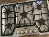 Thermador Masterpiece 30 5 Star Burners With Power Burner Cooktop Ss Sgs305fs