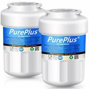 2 Pack Refrigerator Water Filter Fits Ge Mwf Smartwater Mwfp Hdx Fmg 1 Wfc1201
