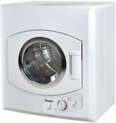 Panda 2 65 Cu Ft Compact Laundry Dryer White