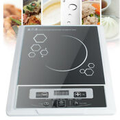 Digital Electric Induction Cooktop Cooker Burner Home Countertop 1300w Led Home