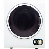 1 5 Cu Ft Compact Electric Dryer In White