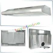 Kitchen Stainless Steel 30 Glass Wall Mount Cooker Range Hood Stove Vents