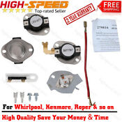 N197 3387134 3392519 279816 Thermostat Package Kit For Whirlpool Kenmore Dryer