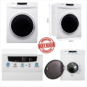 Magic Chef 3 5 Cu Ft Compact Electric Clothes Dryer Apartment Dorm Rv White New