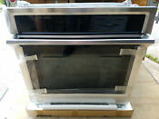 Samsung 30 Electric Wall Oven Nv51k6650s New Dented External Damage