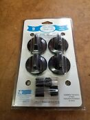 New Range Clean Gas Stove Knobs Kit 8214 Fits Most Stoves Nip Nos
