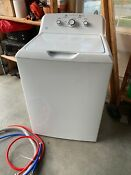 Ge 3 8 Cu Ft Capacity Washer With Stainless Steel Basket Gtw330askww
