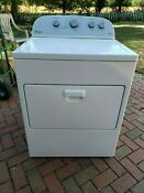 Whirlpool Electric High Efficiency Steam Drying Dryer 7 Cu Ft