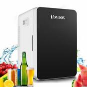 20l Mini Fridge With Freezer Refrigerator Dorm Room Party Cooler Small Office