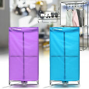 Portable Electric Clothing Dryer 1000w Heater Laundry Wardrobe Drying Rack 1000w