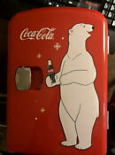 Coca Cola Personal Fridge Polar Bear