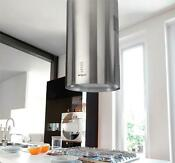 Island Range Hood Round Model Ka 123 Cs Vent Duct Ductless Nt Air Made In Italy