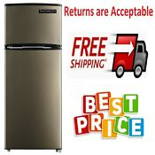 Thomson 7 5 Cu Ft Top Freezer Refrigerator