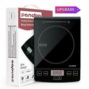 Sandoo Ha1865 Induction Cooktop 1800w Portable Electric Burner Stove Safety