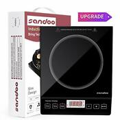 Sandoo Ha1897 Induction Cooktop 1800w Portable Electric Burner Stove Safety