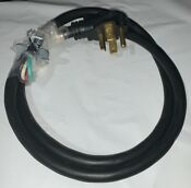 4 Wire Dryer Power Cord 5 Feet Long Ul Approved 30 Amps