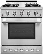 Nxr Sc3055 30 4 5 Cu Ft Pro Style Natural Gas Range With Convection Oven