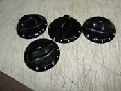 Jenn Air Knobs Range H Shaft Black Large Face