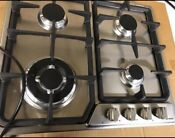Verona Gas Cooktop 24 Inch Model Vegct424fss Stainless Steel Never Used