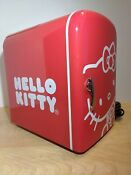 Hello Kitty Personal Portable Mini Fridge W Carry Handle Cooler Warmer 76009